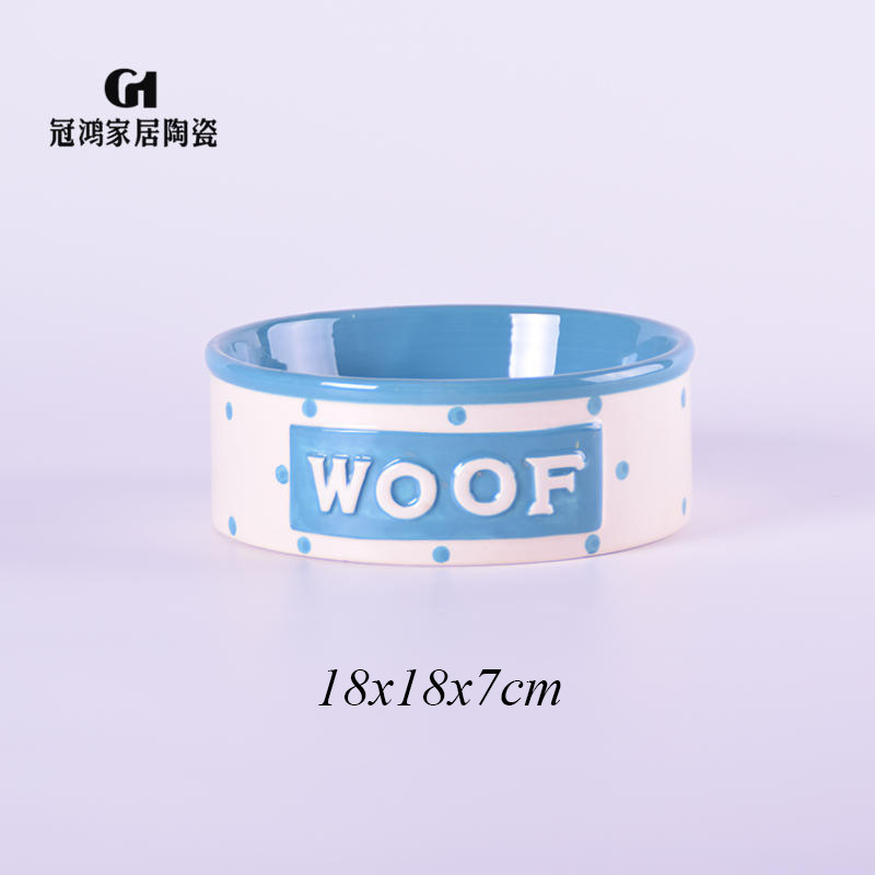Ceramic dog food bowls,ceramic pet food storage,Ceramic dog food container,Hot Sales