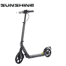 2 wheel folding kids/adult lightweight tri folding kick scooter for adults