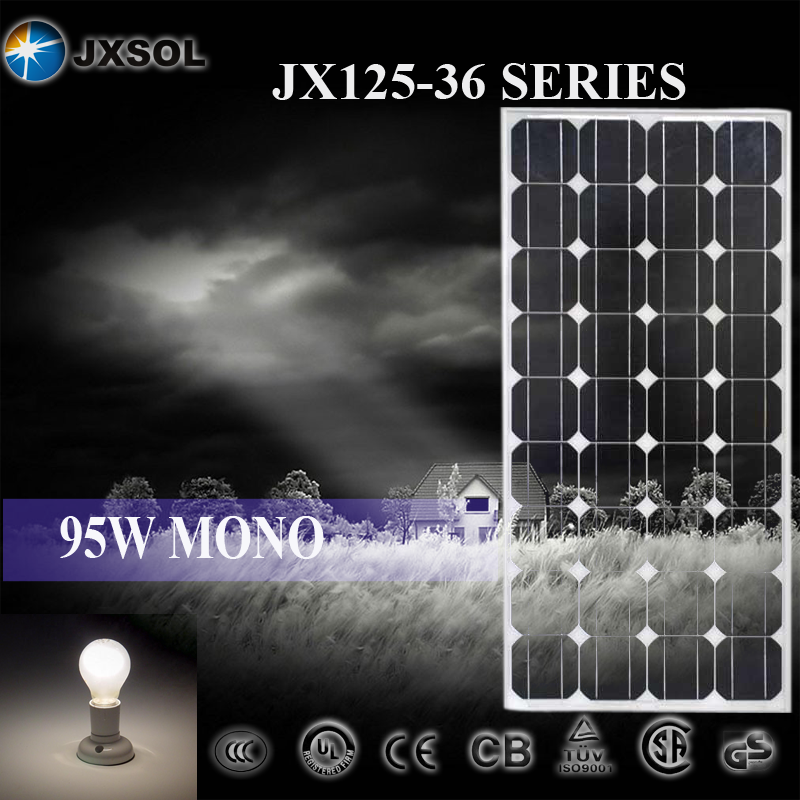 BEST PRICE AND HIGH EFFICIENCY 95W MONO PV PANEL SOLAR