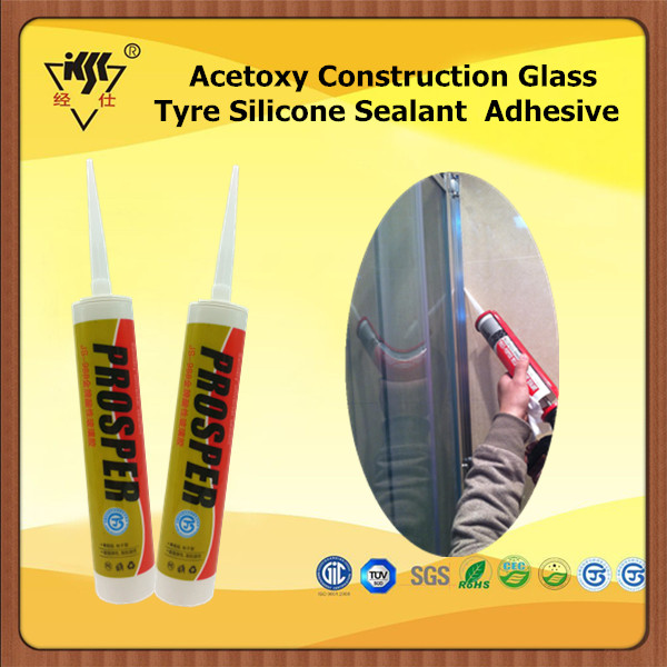 Acetoxy Construction Glass Tyre Silicone Sealant Adhesive