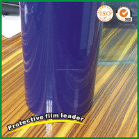HX-136 Blue pe pvc protective film protection film adhesive tape for wood