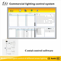 LED Smart Lighting central control software,DALI Commercial Lighting Control System led light remote control