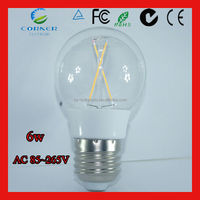 2017 new design high quality 6w 650lm alminium 3 way led light bulb