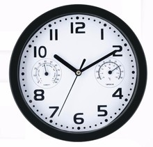 home decoration big size weather station wall clocks