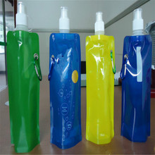2015 hot sale silicone foldable water bottle
