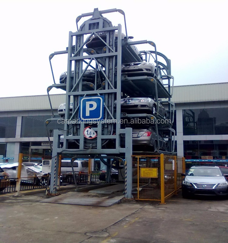 Plc Rotary Parking Solutions Vertical Parking Lifting Equipment