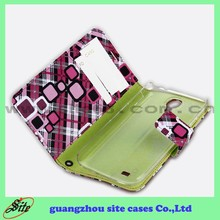 New Arrival Leather Flip Mobile Phone Cover For SamSung Galaxy S4