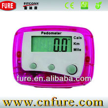 Wholesale Universal Promotional Free Cheap Precise Pedometer,Multi Functions Pedometer With Memory