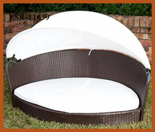 Luxury Pet Bed Rattan Dog Bed With Canopy