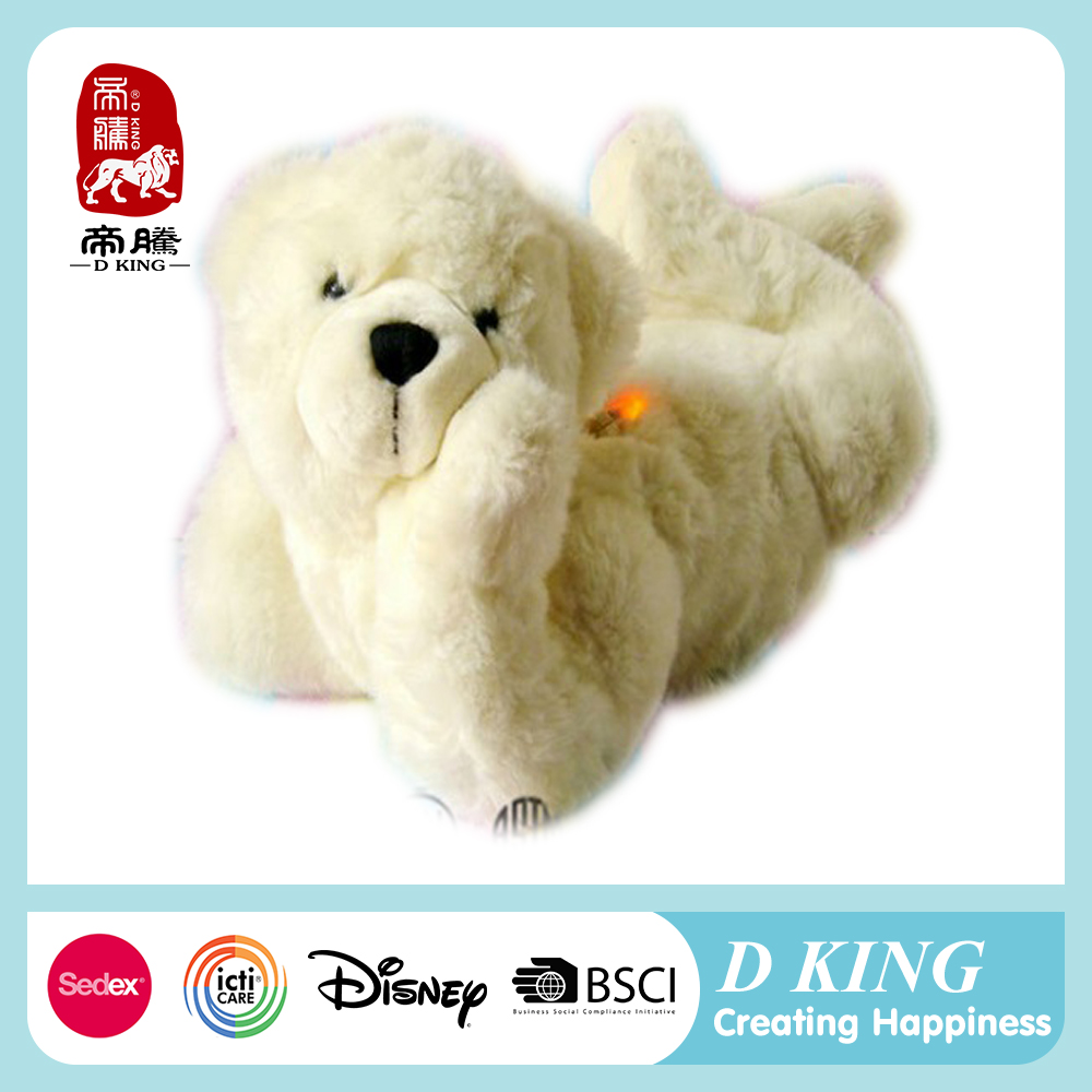 New Arrival Stuffed Soft Plush Toy for Baby Sleeping Teddy Bear Plush Musical Toy