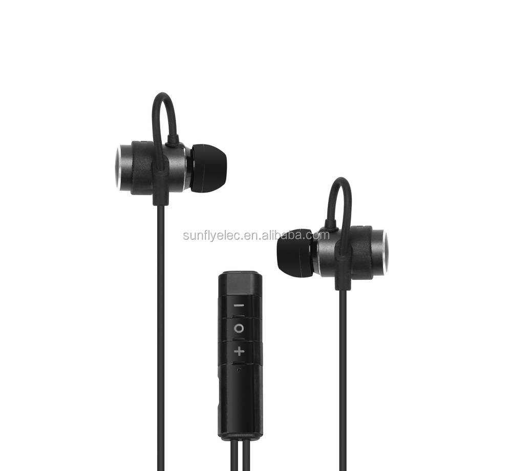 oem clear tube earpiece,wirless earphone for running with super fit design