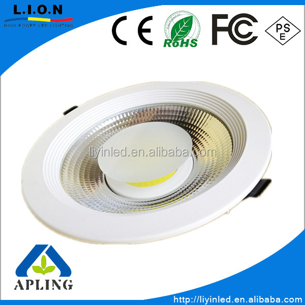 Top sale Slim COB led <strong>downlight</strong> 30W 20W 10W from liyinled