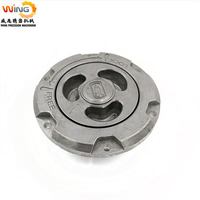 aluminum die casting industrial parts with electroplating