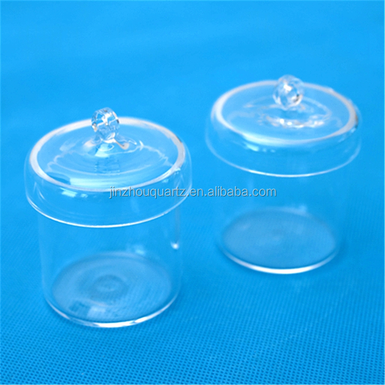High Purity High Temperature Clear Quartz Glass Crucible for Lab