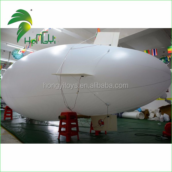 Remote Control Inflatable Airship / inflatable zeppelin with remote control