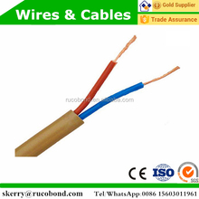 flexible copper conductor pvc insulation house wiring cable