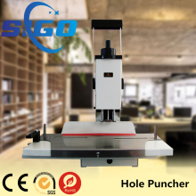 SG-WB50 heavy duty punching machine a4 shape hole punch paper