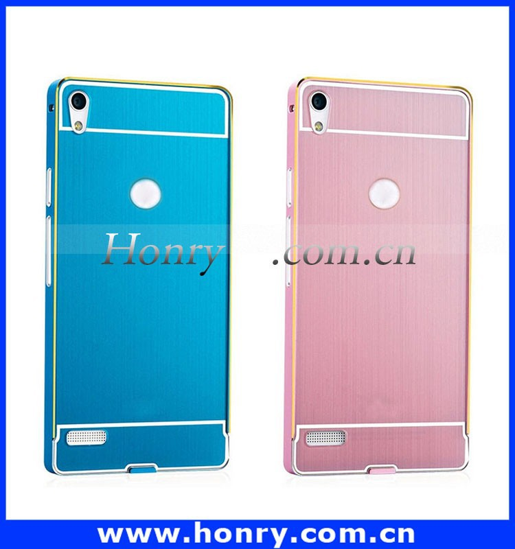 Ultra Slim Aluminum Metal Case For HuaWei Ascend P6 Back Cover Case