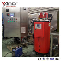China Industrial 35kg 50kg 80kg 100Kg/h Gas and Oil Fired Steam Boiler Price