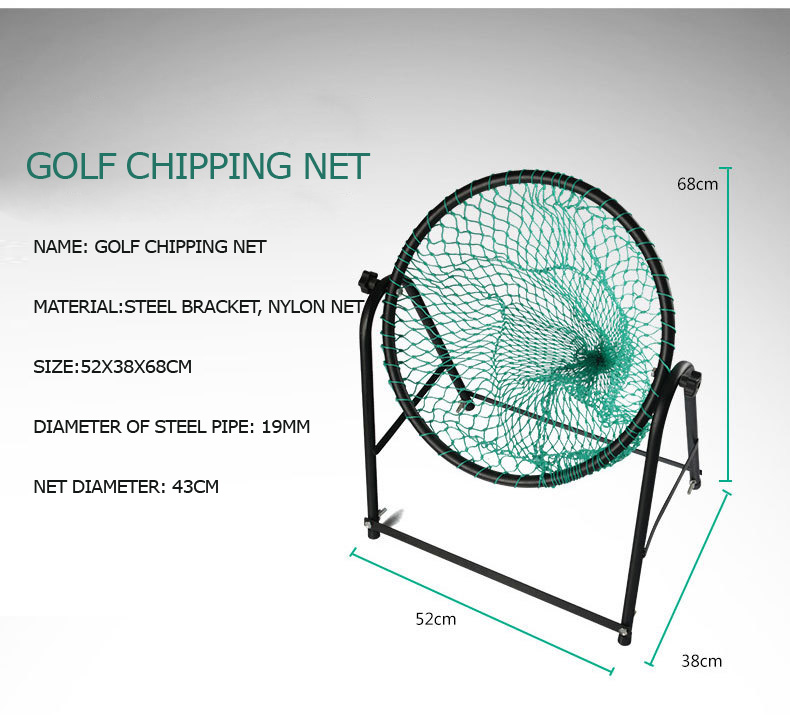 Deluxe Indoor golf Practice chipping net