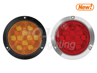 "4"" Round LED Light Surface Mount, STOP/TAIL/TURN led turn signal light"