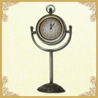 Cheap metal antique alarm table clock