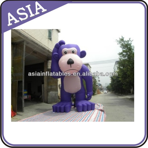 inflatable monkey shape model