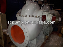 Split case electric pumps for water