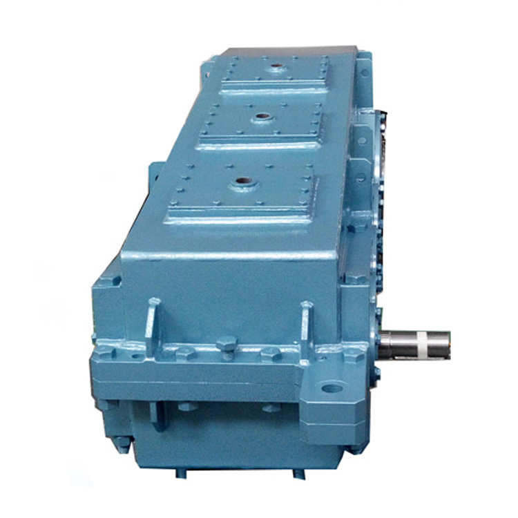 Helical speed variation gearbox reducer