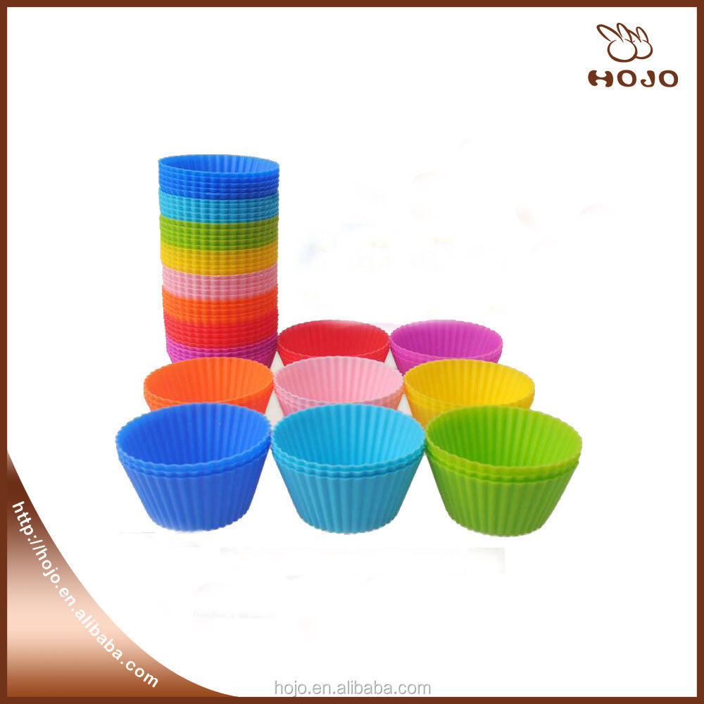 Good quality baking Silicone muffin cake cup 7cm