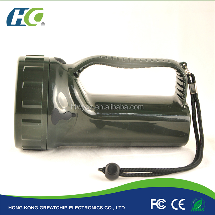 Best selling rechargeable hunting hanheld search light 10400Mah Lithium battery led torch