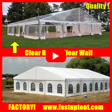 cheap transparent clear roof 20x30m party marquee wedding tent