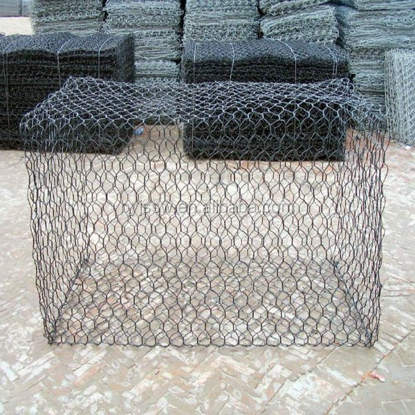 Quality guarantee galvanized gabion pvc coated