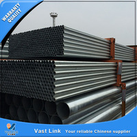 Bs1387 Galvanized Steel Pipe Scaffolding Tube