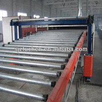 machine line of paper faced plaster board