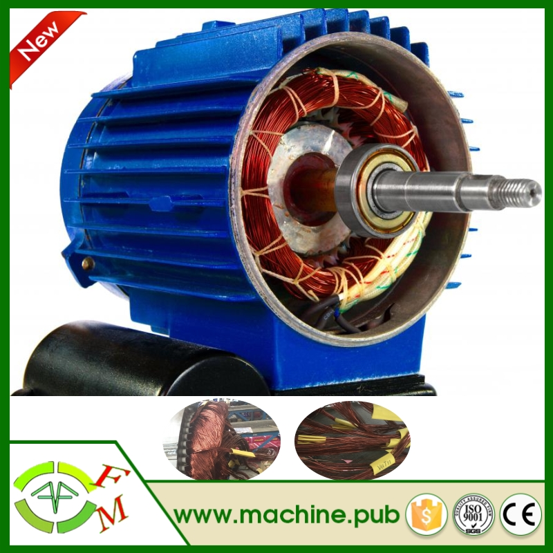 Commercial axial flux permanent magnet motor