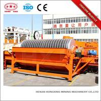 Dry and wet iron ore cross belt magnetic separator