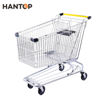 Wholesale high quality American supermarket shopping trolley HAN-A180 1367
