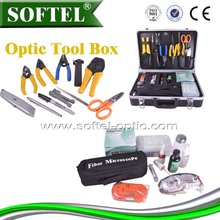 (For SC/ST/FC and LC Connectors) Toolkit with Rugged Field Case, Fiber Optic Termination Kit