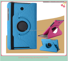 Wholesale new 360 rotating stand PU case/ Leather case / protective cover For ASUS tablet MeMO Pad HD 7 ME173X ME173