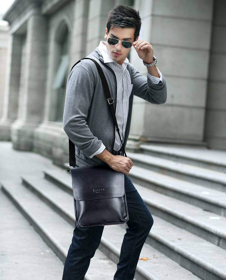 leather message bag - fashion luxury leather message bag