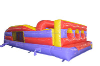 Inflatable Sports Arena with obstacles for three persons play