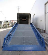 Portable car ramp/used container loading ramps/dock plate for truck