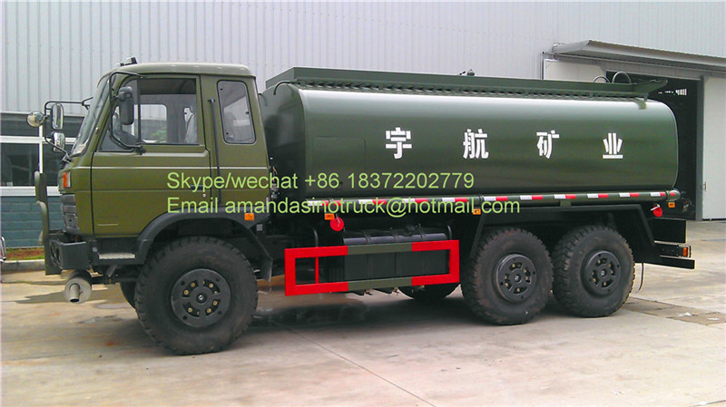Military vehicles dongfeng 6x6 LHD/RHD desert used fuel tanks solid fuel tank trucks