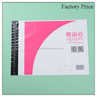 Pink color printing personalized mailing bags, pe plastic mail bag, poly mailer