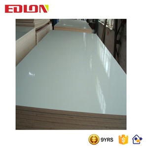 Edlon Wood Products 4 x 8 high gloss acrylic mdf boards high gloss melamine board HPL Laminated formica Plywood