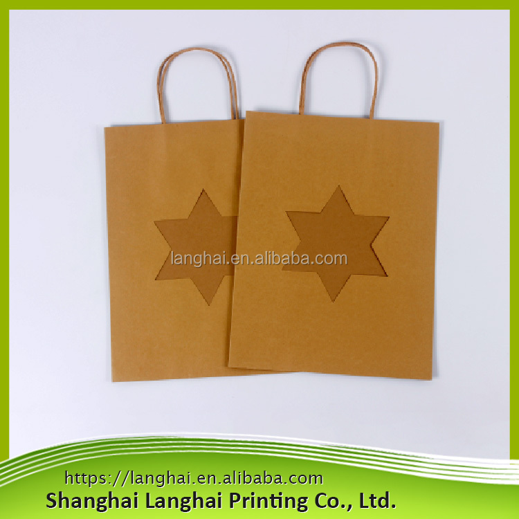 Hot new products for 2017 promotional logo printed carry bags <strong>paper</strong>