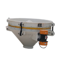Smart corn peas seed grain feeder vibrator discharger with bowl feeder