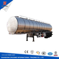 fuel tank manufacturers heavy duty oil tanker truck trailer price