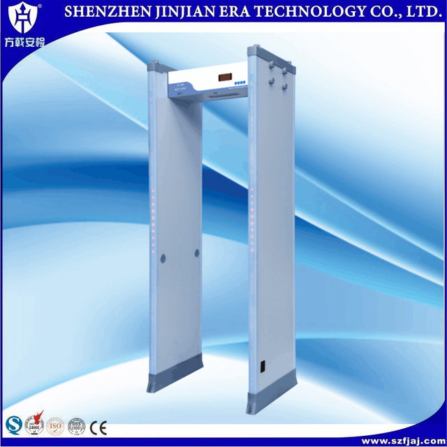 manufacturer walk through metal detector&security door/passing metal detector gate/metal detector systems